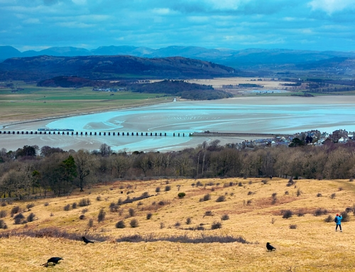Arnside and Silverdale on the Lancashire-Cumbria coast