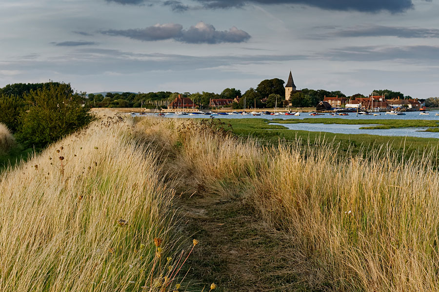 Bosham Quay, near Chichester - on the England Coast Path