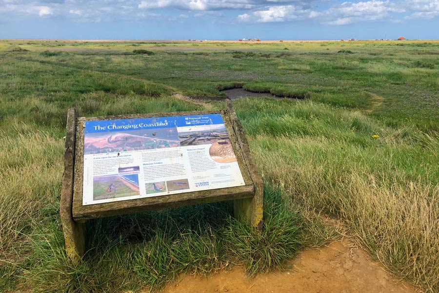 Cley marshes, North Norfolk - on the England Coast Path