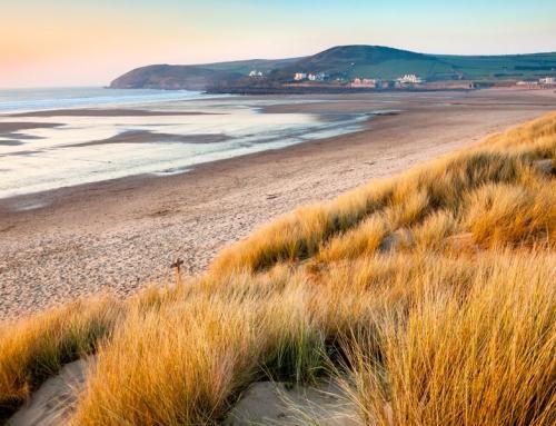 North Devon coast: the best section