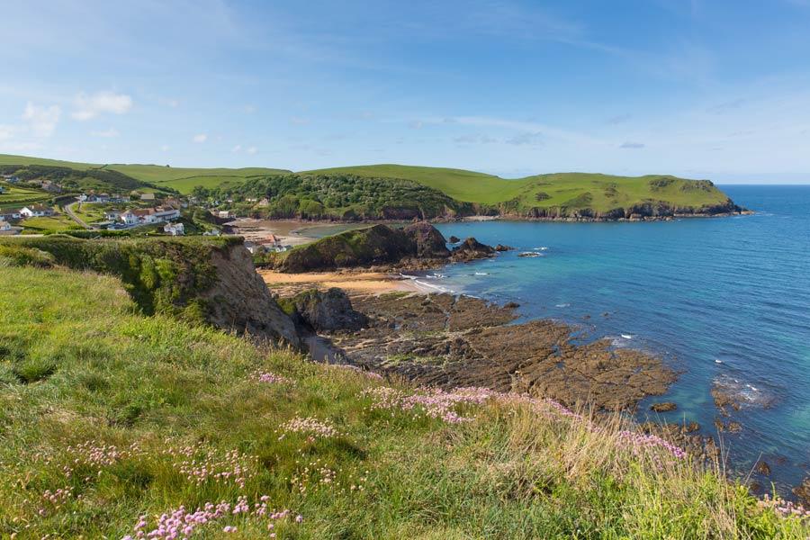 Hope Cove, near Salcombe, South Devon - on the England Coast Path