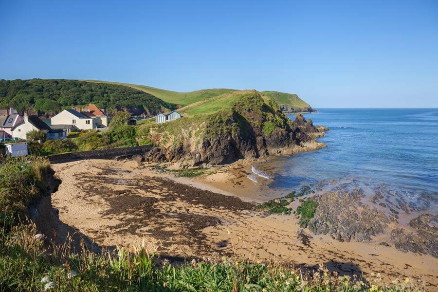 Hope Cove, Devon - on the England Coast Path