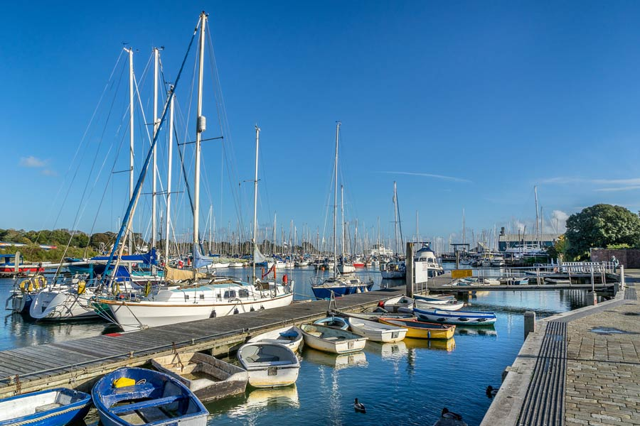 Lymington Quay - on the England Coast Path