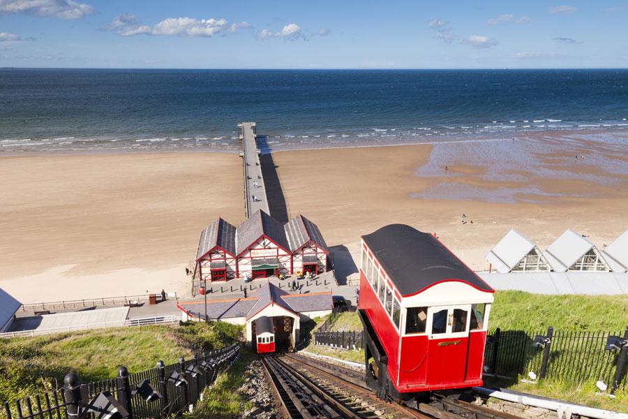 Saltburn is on the England Coast Path