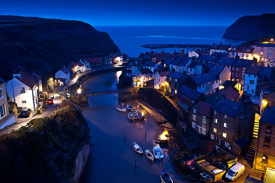 Staithes on the North York Moors coast - part of the England Coast Path